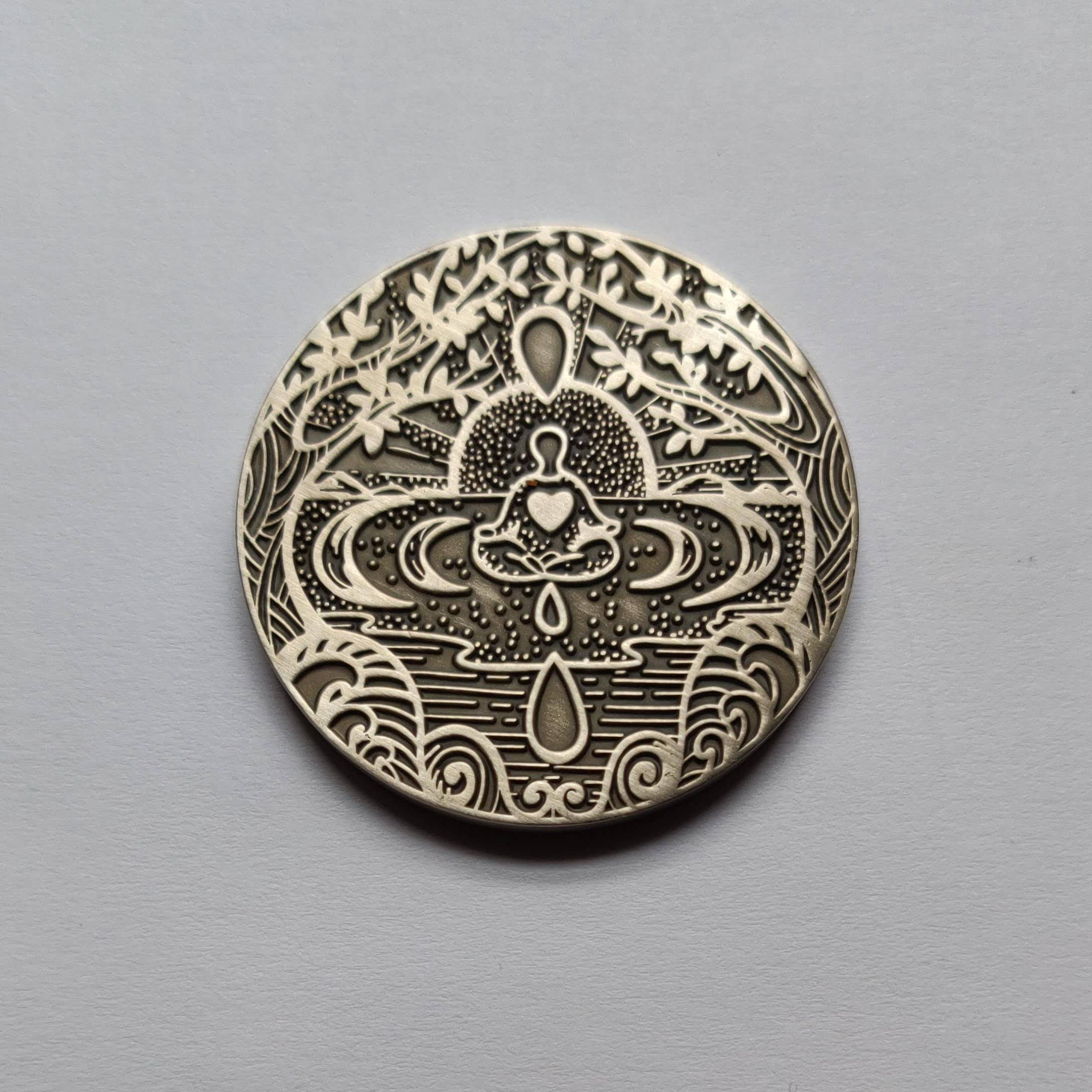 I Am Enough Mantra Medallion | Trada Marketplace