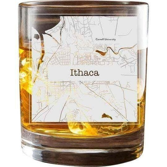 Ithaca College Town Glasses (Set of 2)   Trada Marketplace