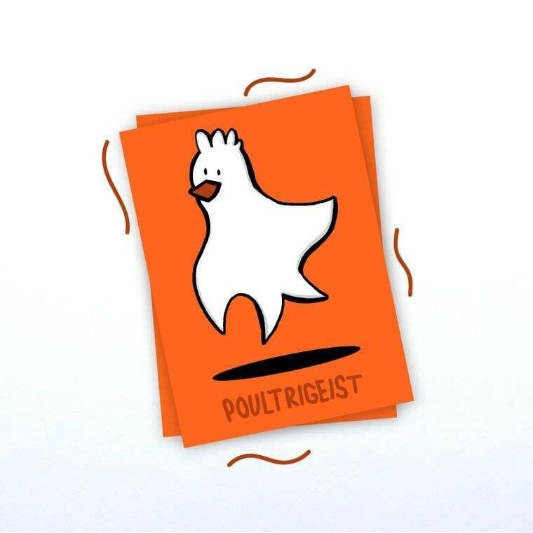 Poultrigeist Rectangle Vinyl Sticker | Trada Marketplace