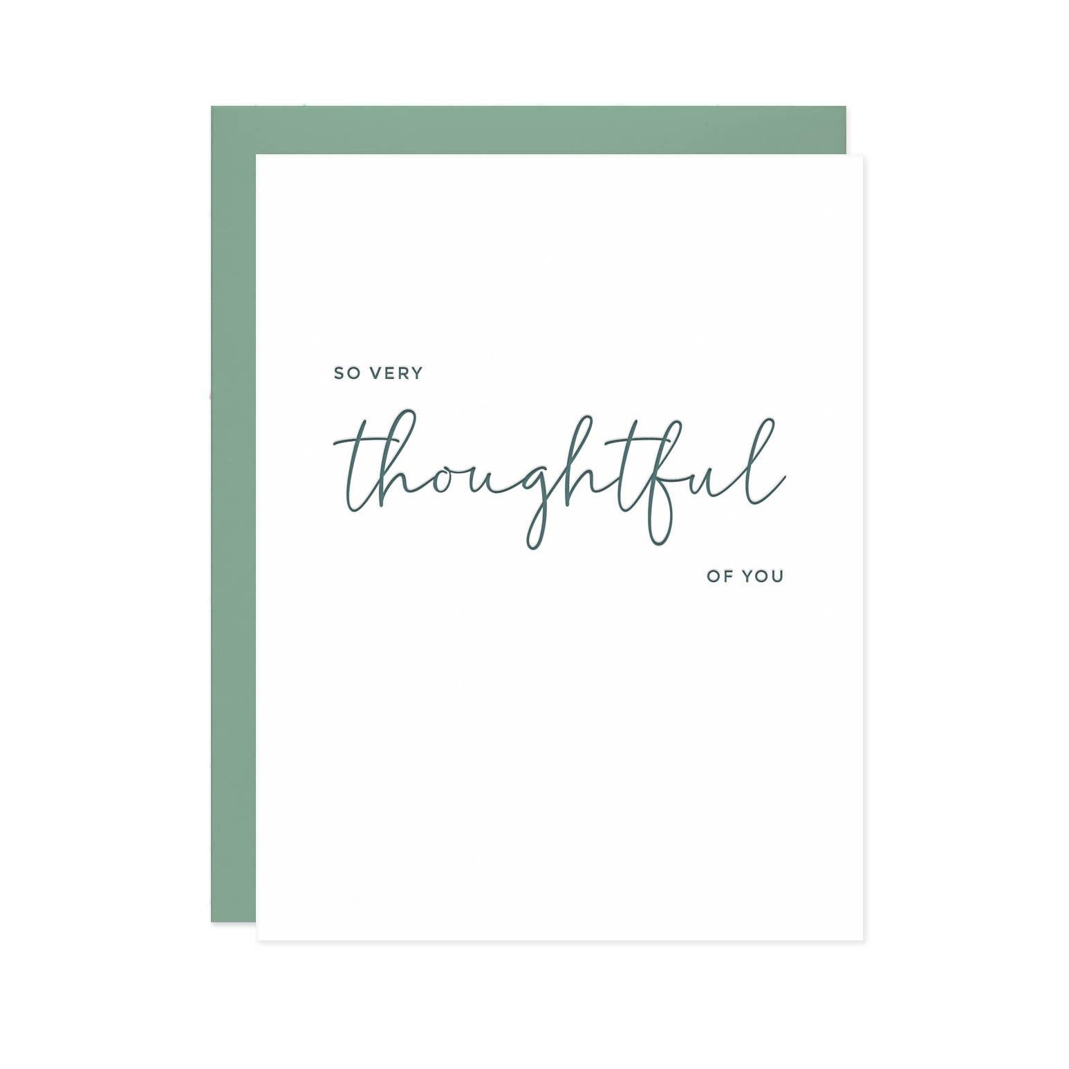 So Very Thoughtful Card | Trada Marketplace