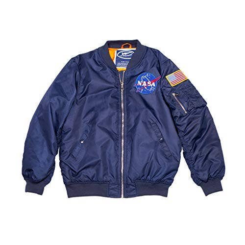 Adult NASA Flight Jacket   Trada Marketplace