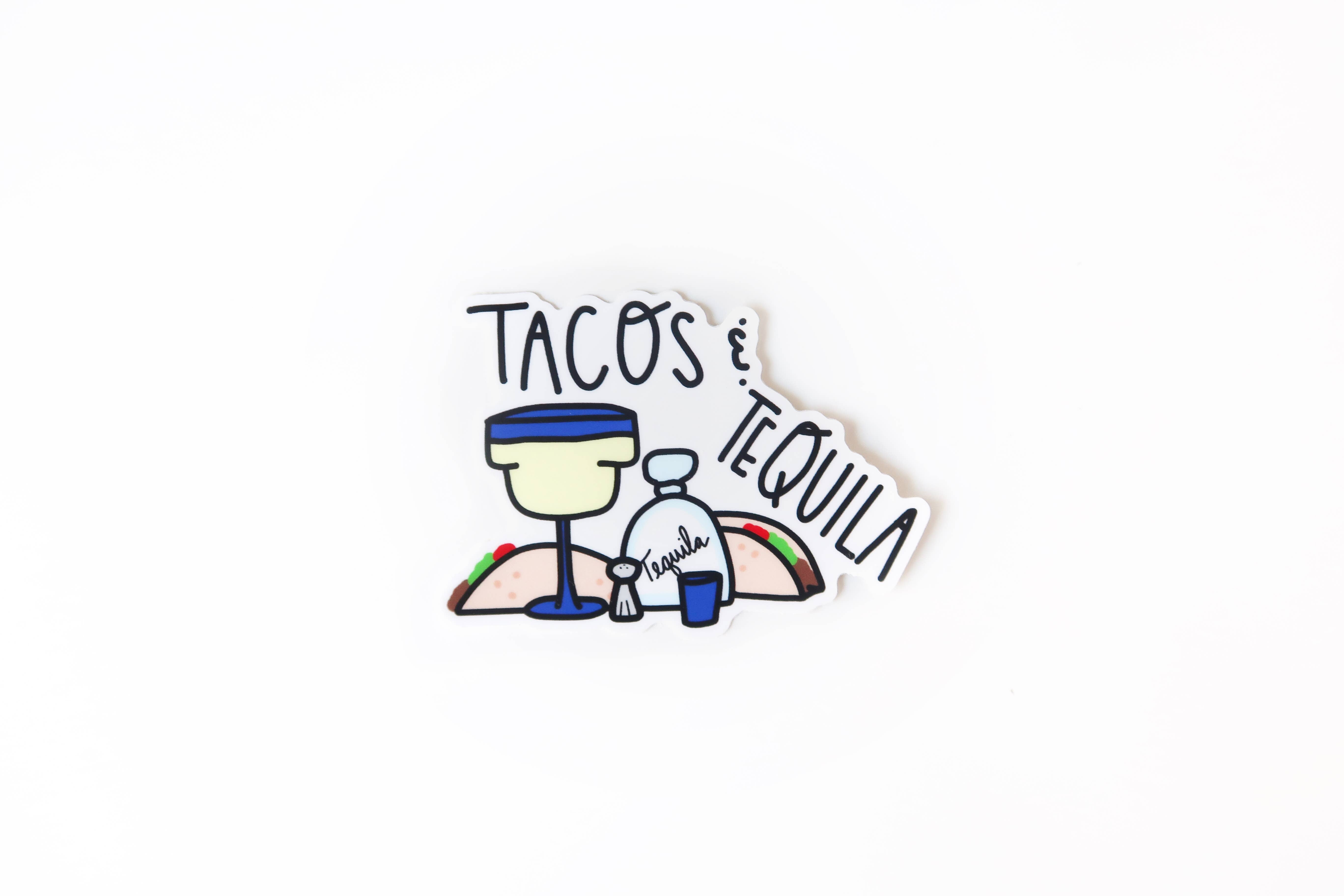 Tacos and Tequila Sticker | Trada Marketplace