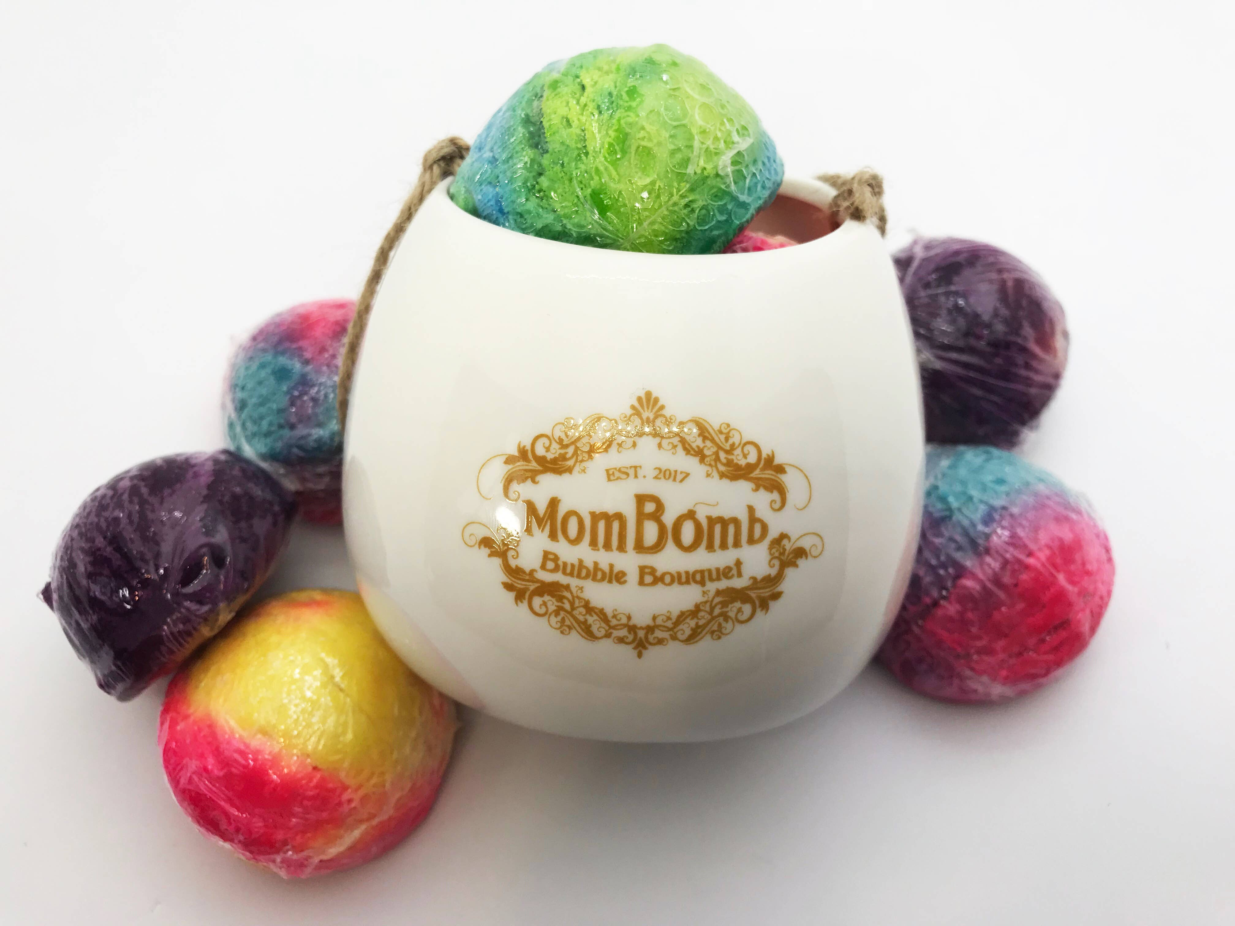 Bath Bomb with Bubbles Gift Set, Funds Charity to Help Moms | Trada Marketplace