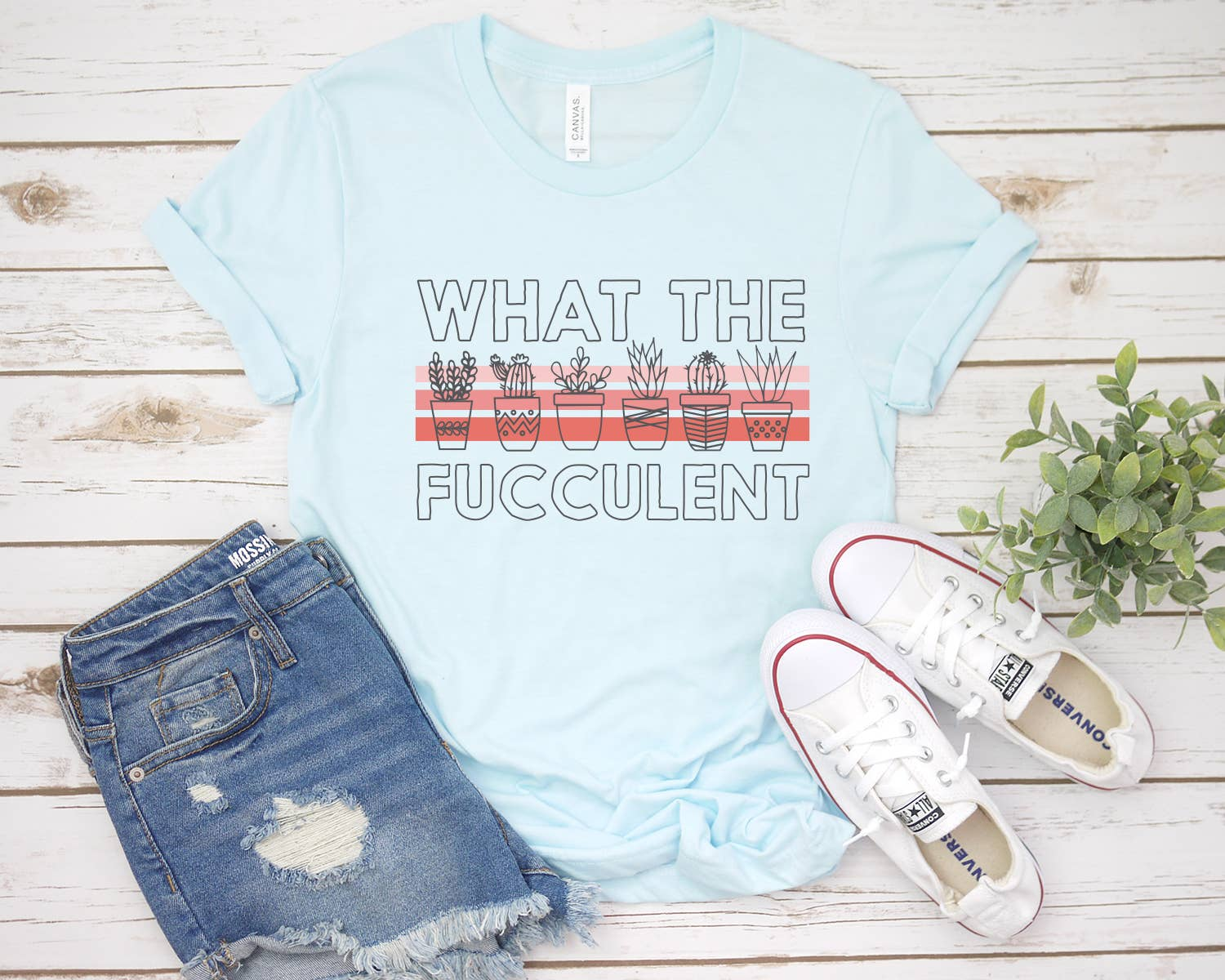 What The Fucculent Tee | Trada Marketplace