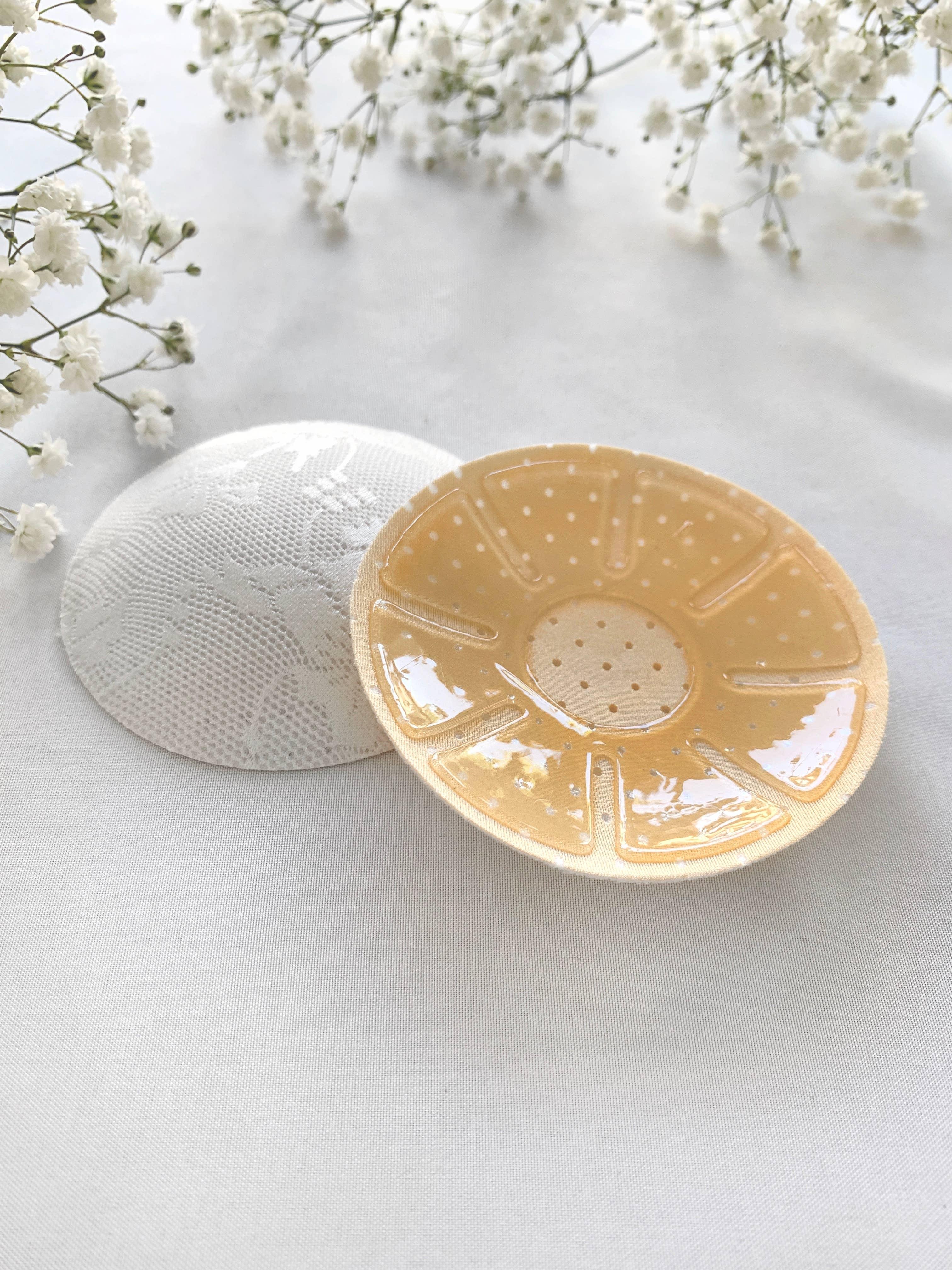Circle Lace Nipple Cover - White | Trada Marketplace