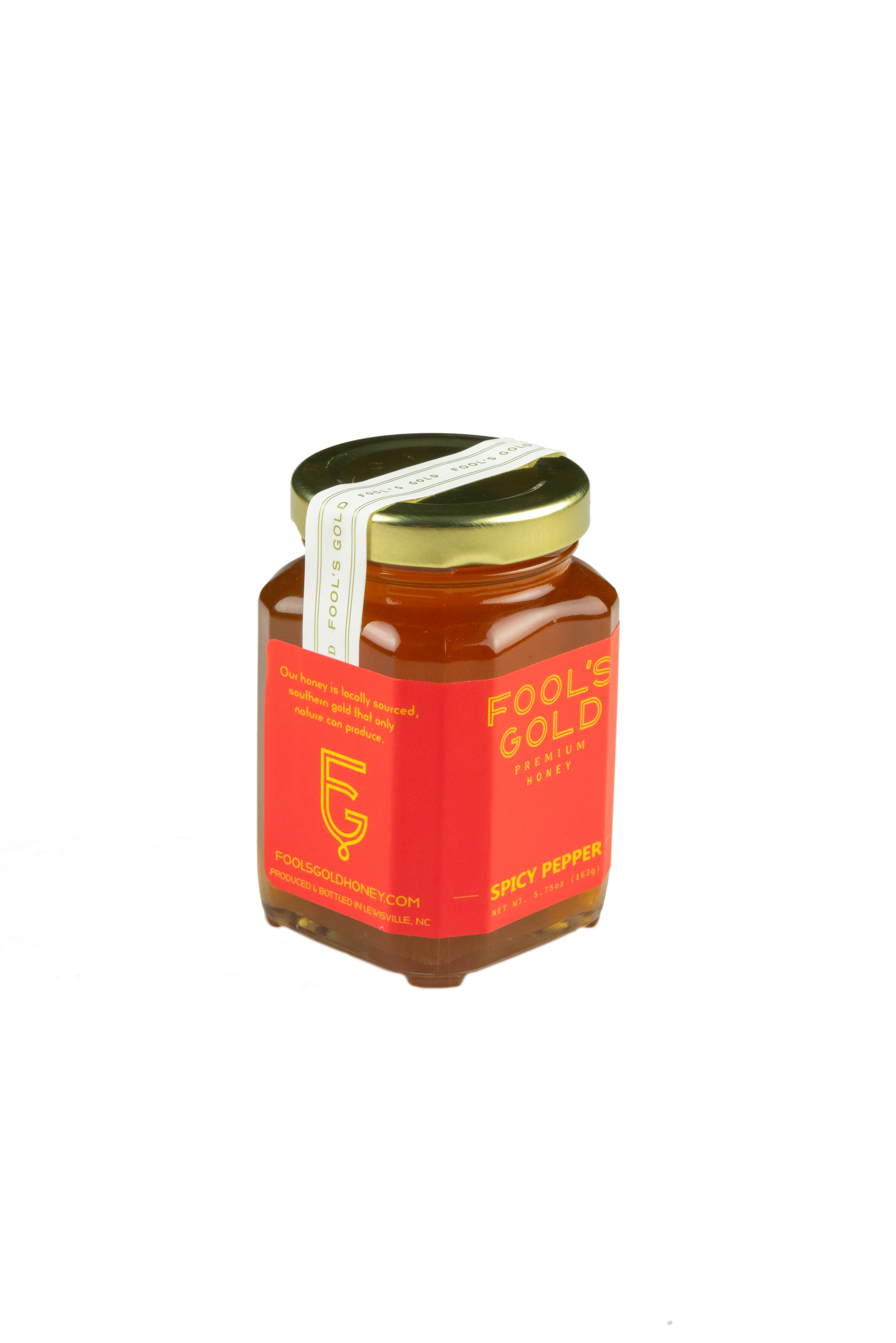 5.75oz Spicy Pepper Infused Honey | Trada Marketplace