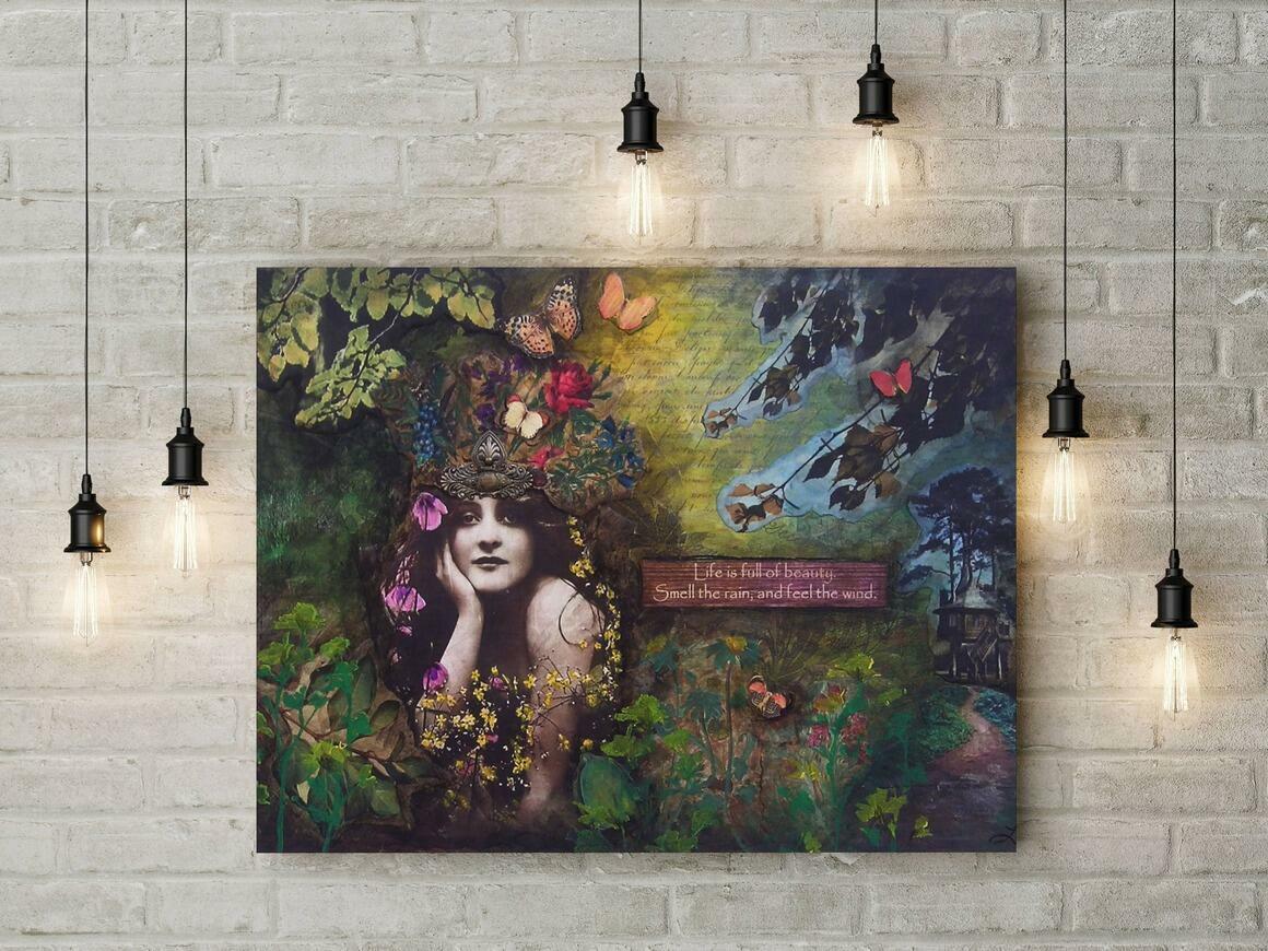 Nature Canvas Wrap Print   Trada Marketplace