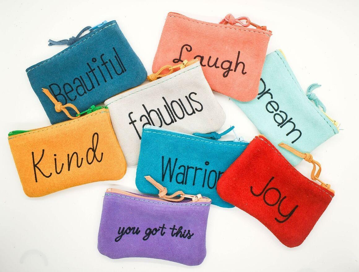 inspirational pouches small set | Trada Marketplace