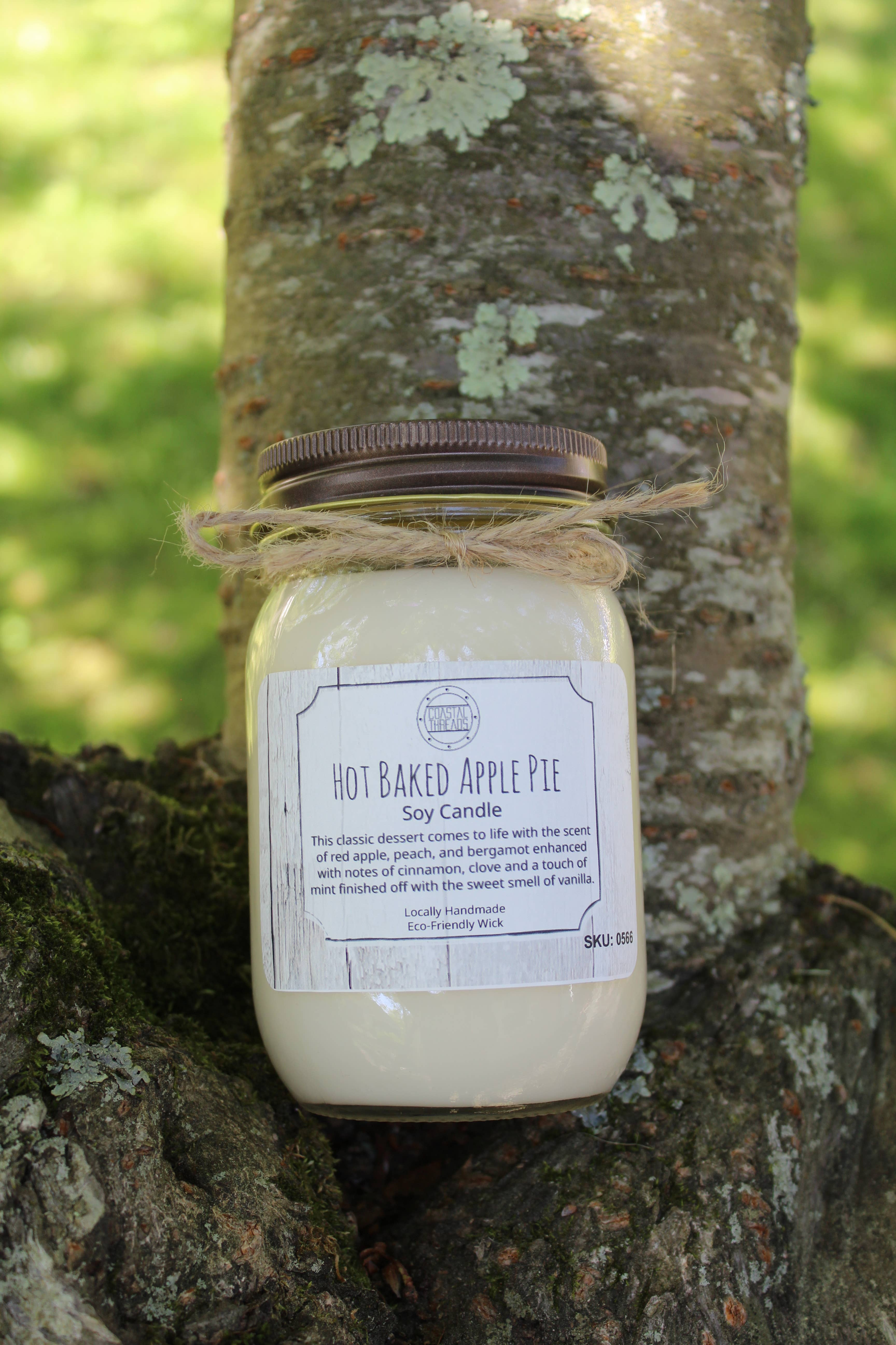 Hot Baked Apple Pie Soy Candle | Trada Marketplace