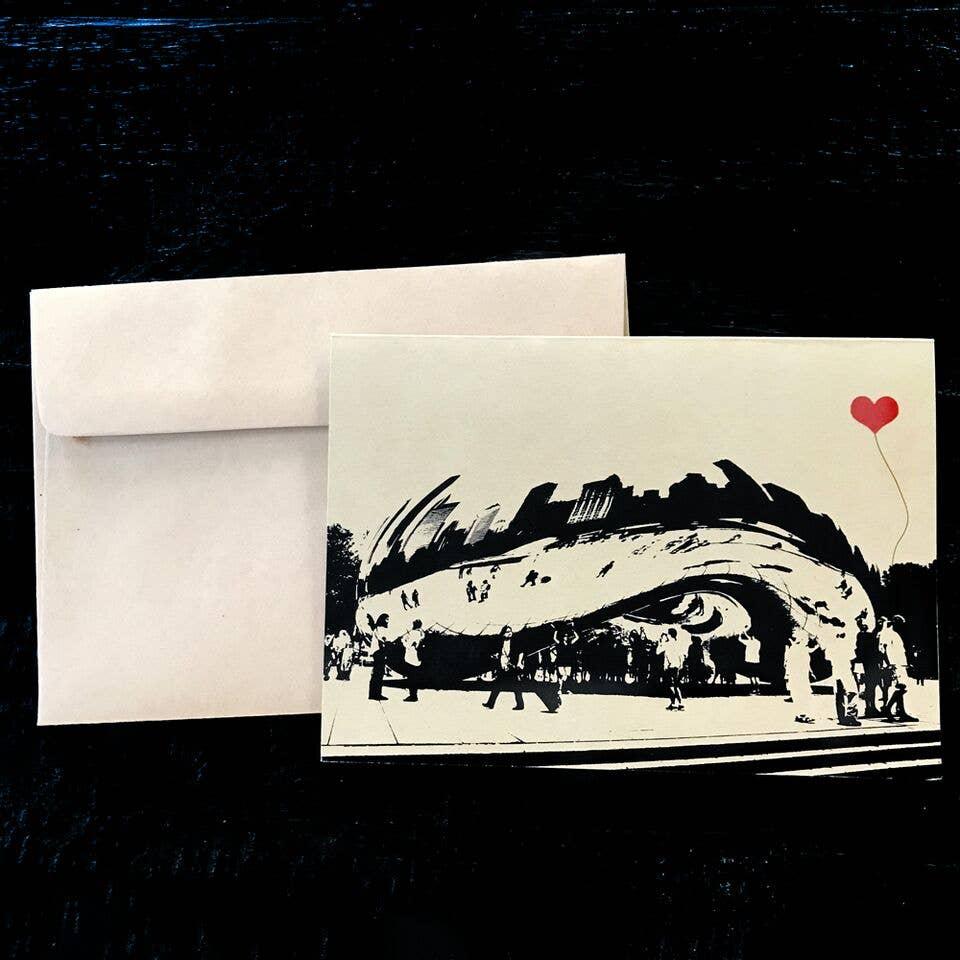 Chicago The Bean Single Card | Trada Marketplace
