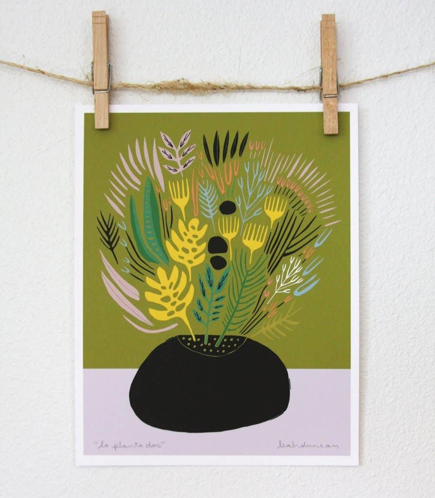 La Planta Dos Art Print | Trada Marketplace