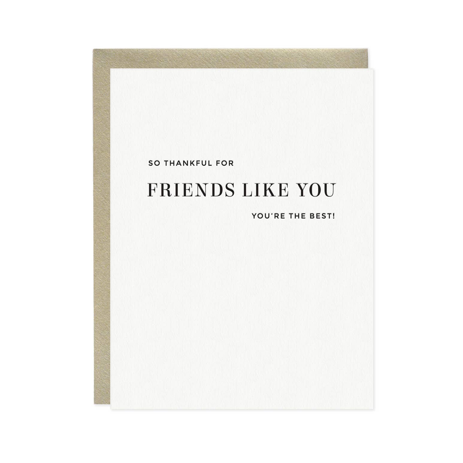 Thankful For Friends Like You Card | Trada Marketplace