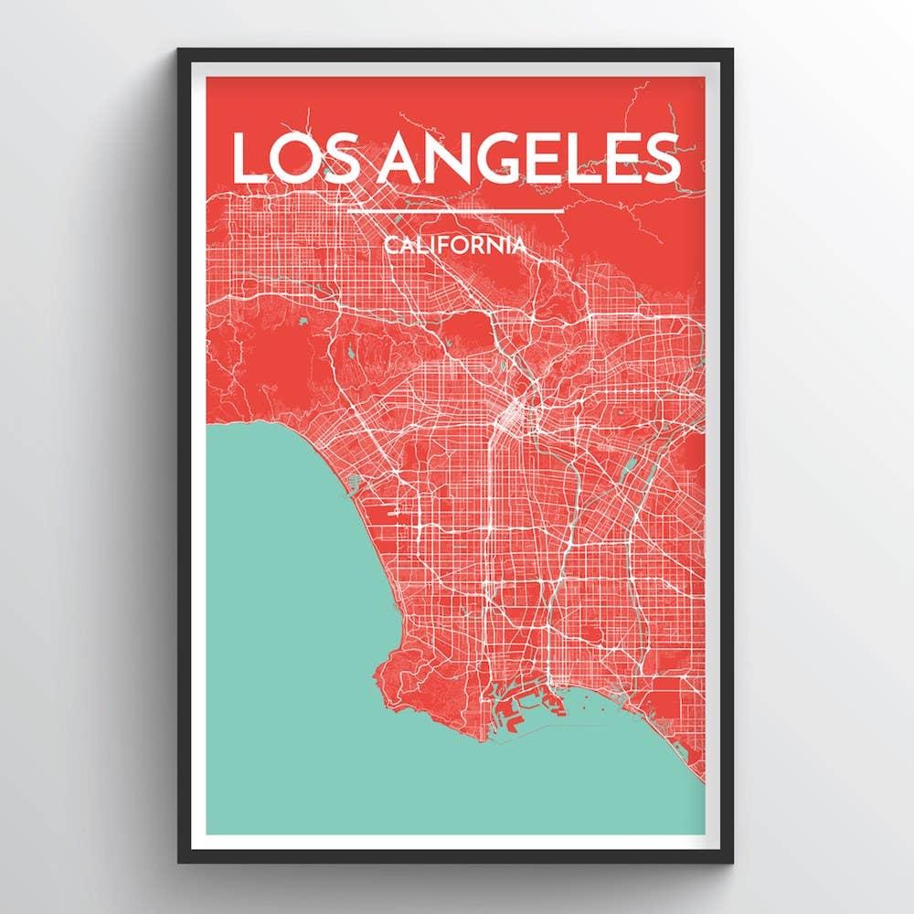 Los Angeles City Map | Trada Marketplace