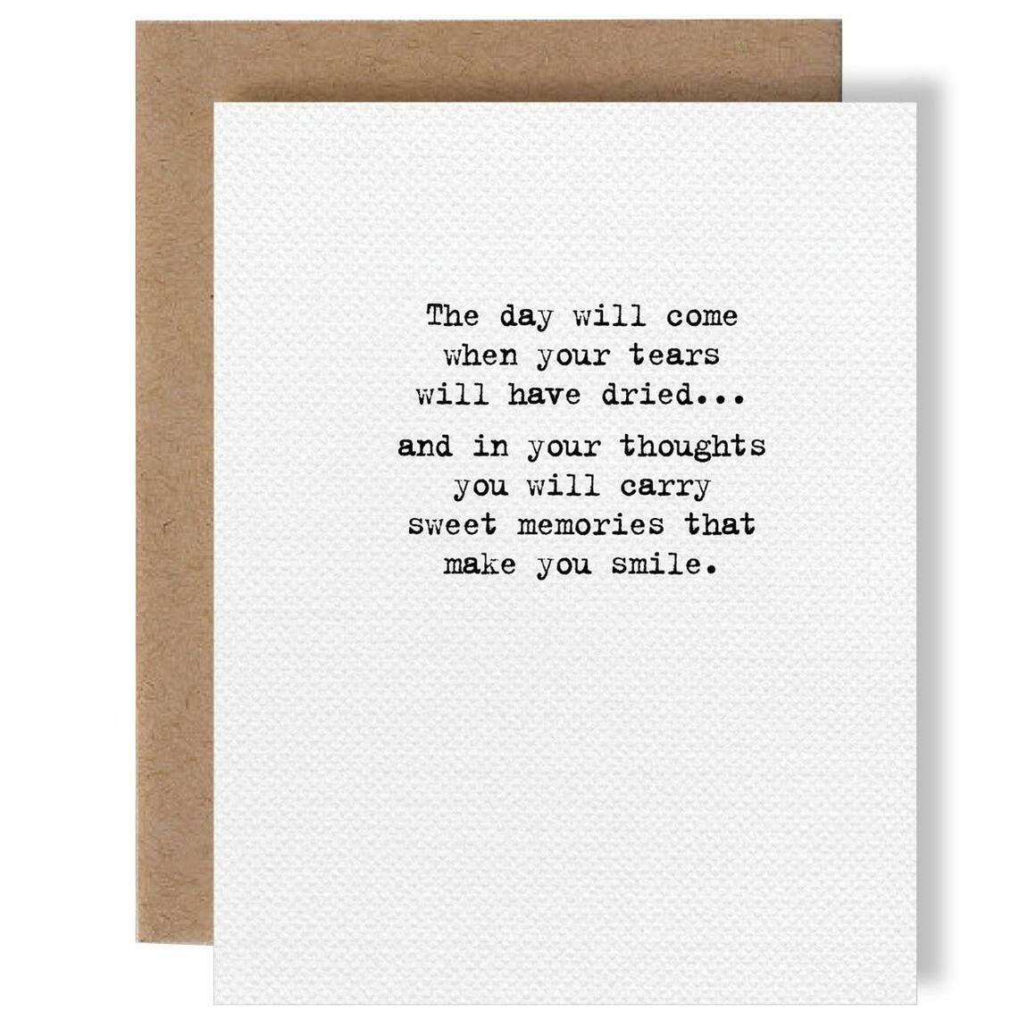 Sweet Memories Card   Trada Marketplace