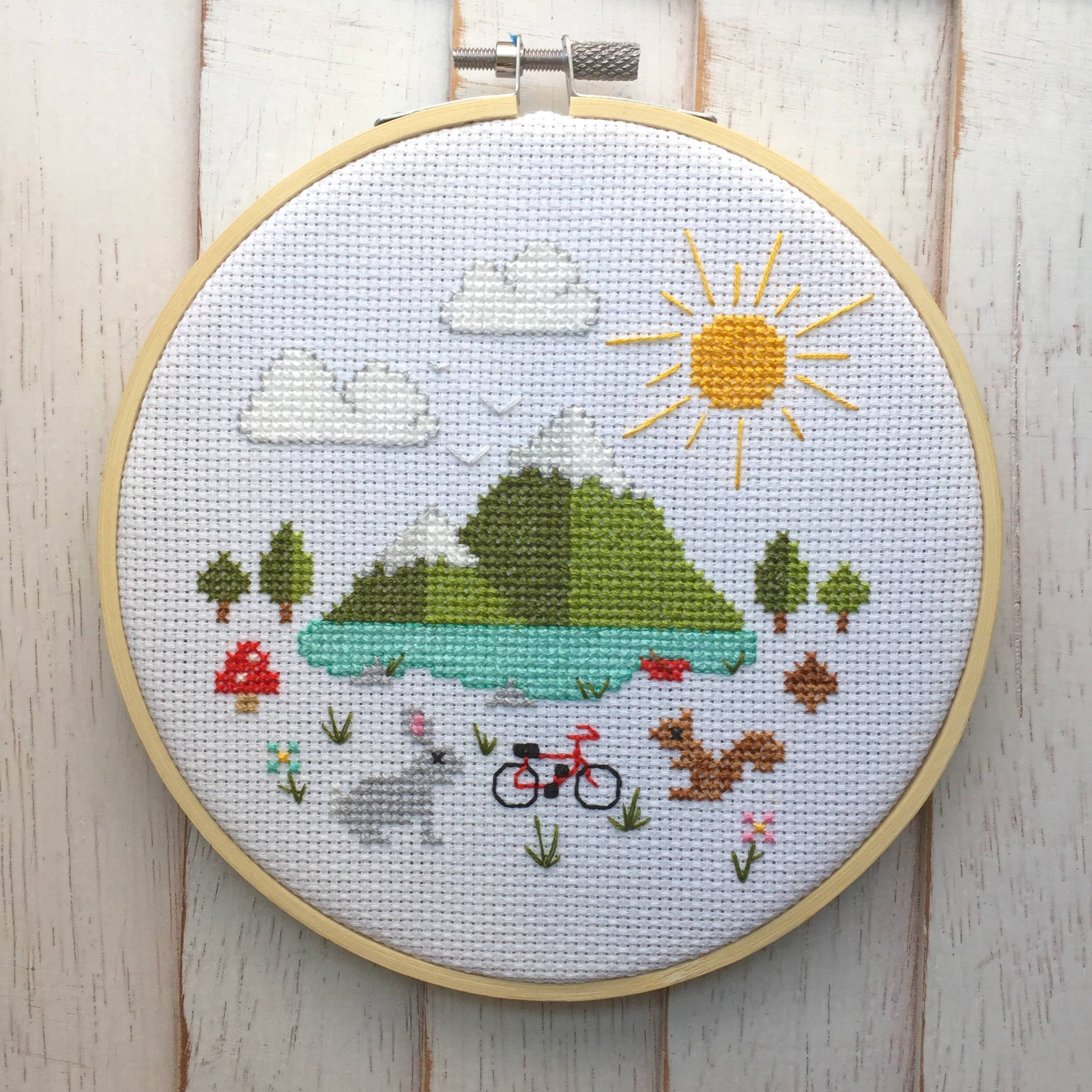 Great Outdoors Counted Cross Stitch DIY KIT   Trada Marketplace