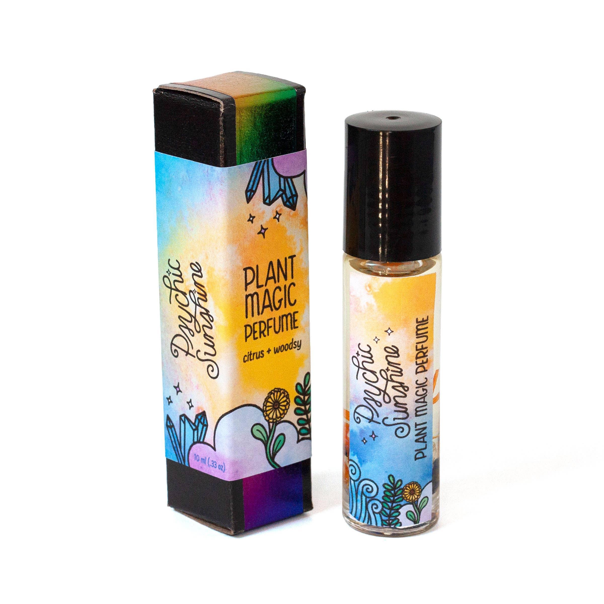 Psychic Sunshine Perfume - Citrus + Woodsy | Trada Marketplace