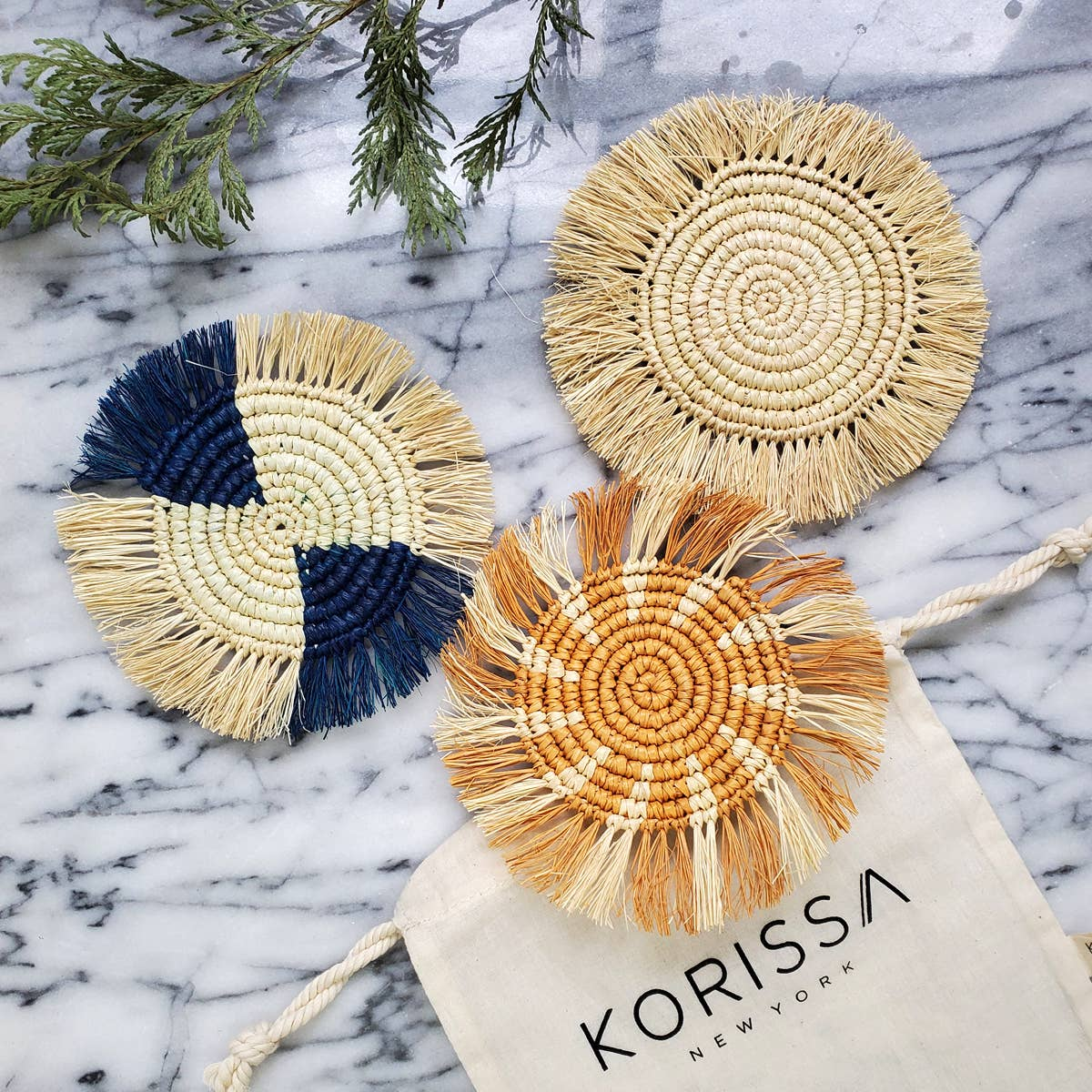 Flor Coaster - Ocean   Trada Marketplace
