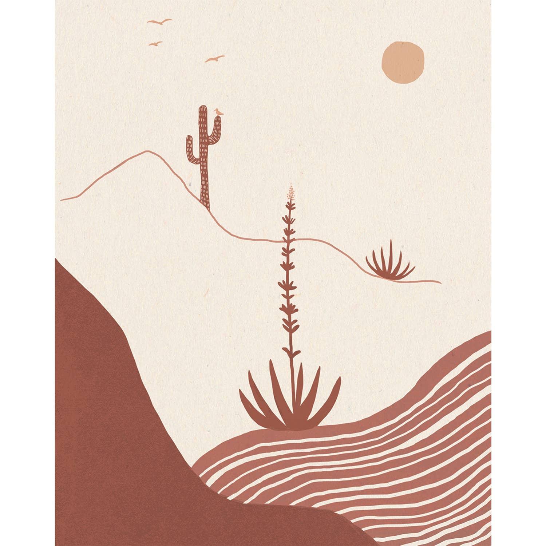 Desert Afternoon Print   Trada Marketplace