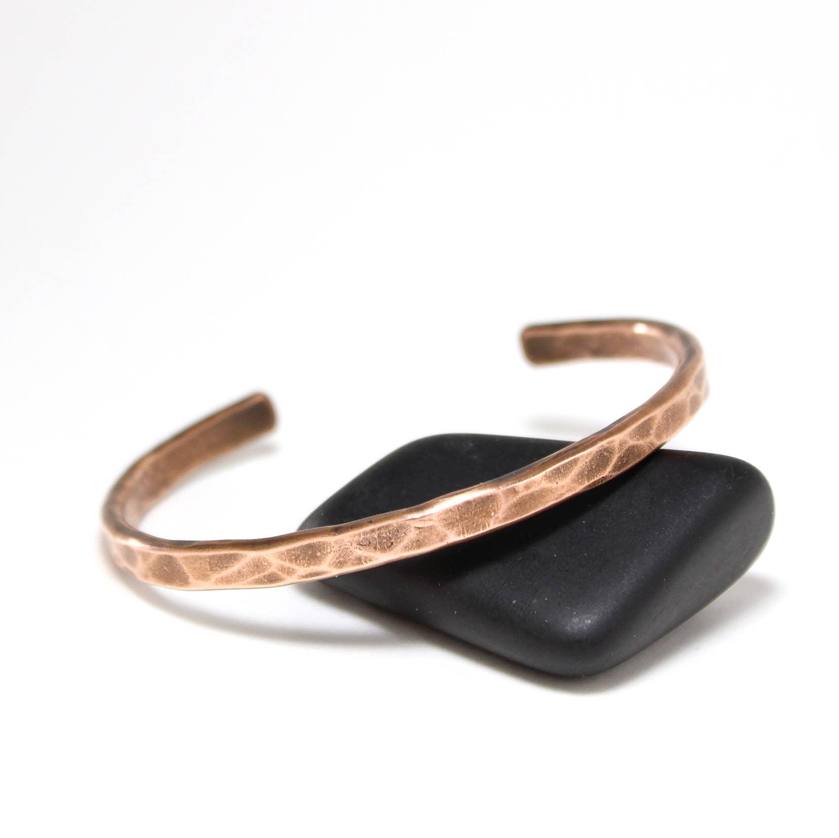 Everyday Wear Copper Cuff (Hammered) | Trada Marketplace
