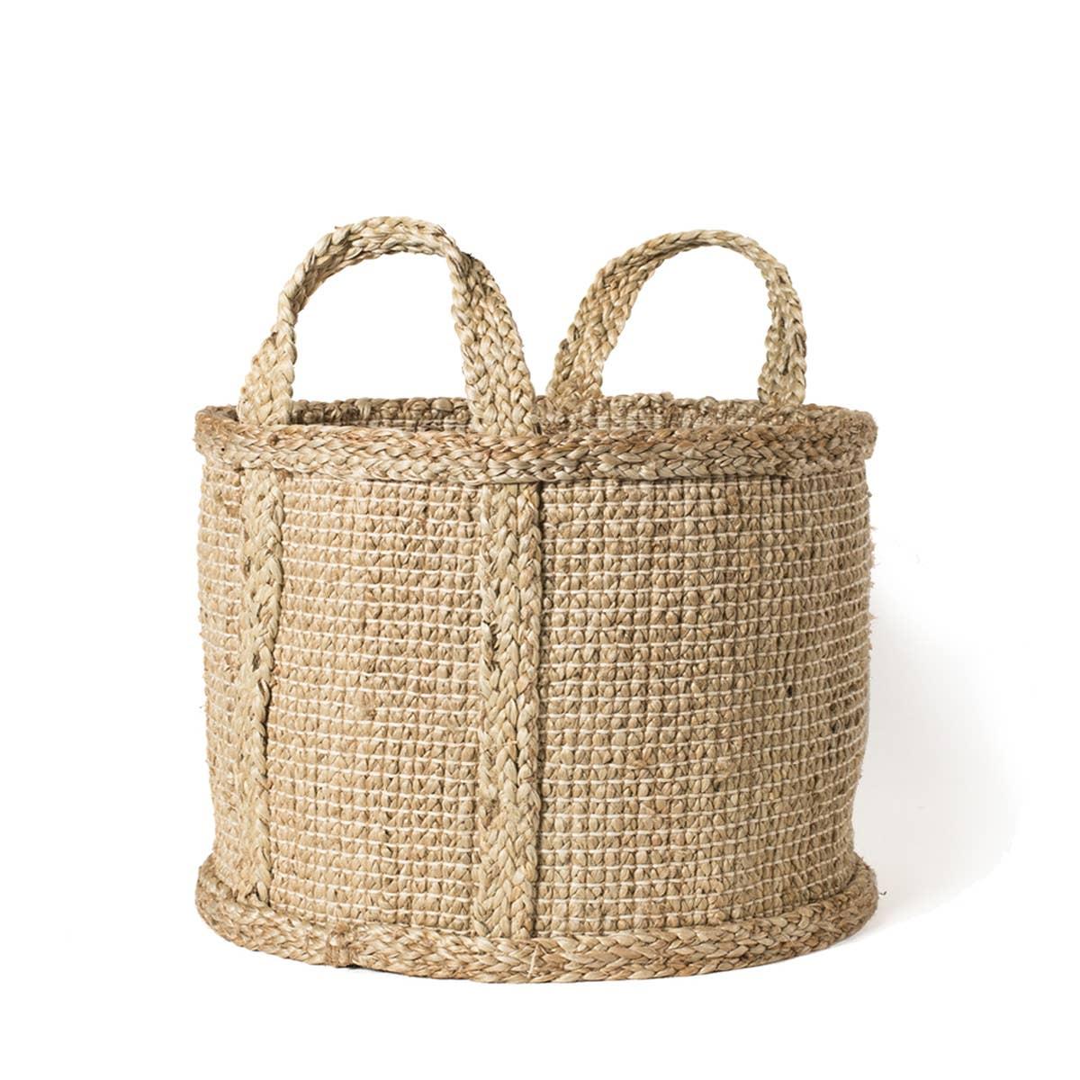 Bono Basket with handle - Natural | Trada Marketplace