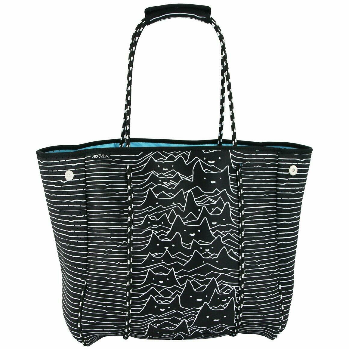 The Everything Tote -Tobe Fonseca - Furr Division Cats | Trada Marketplace
