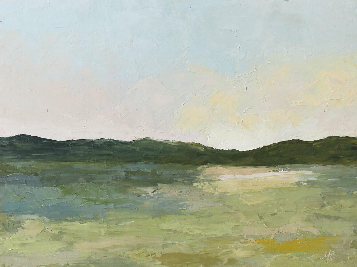 Daybreak Horizontal Canvas Print   Trada Marketplace