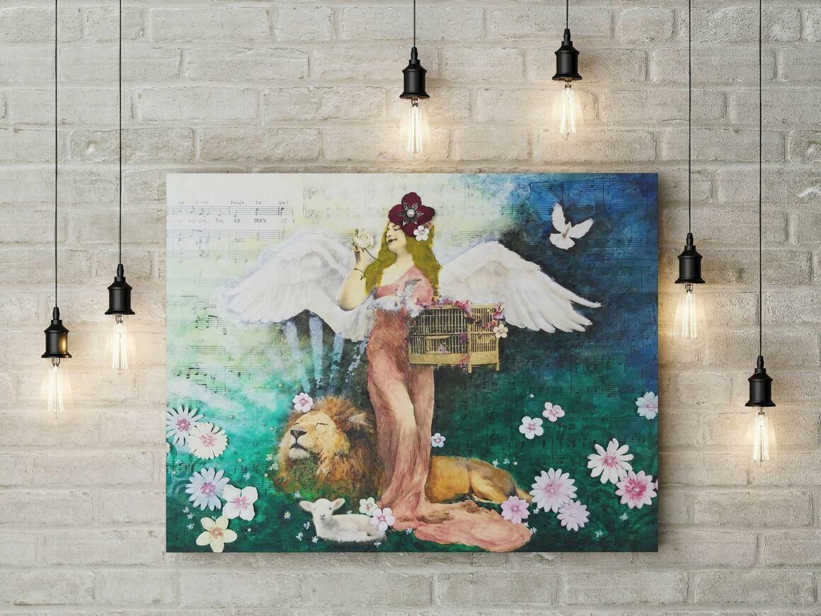Spring Canvas Wrap Print   Trada Marketplace