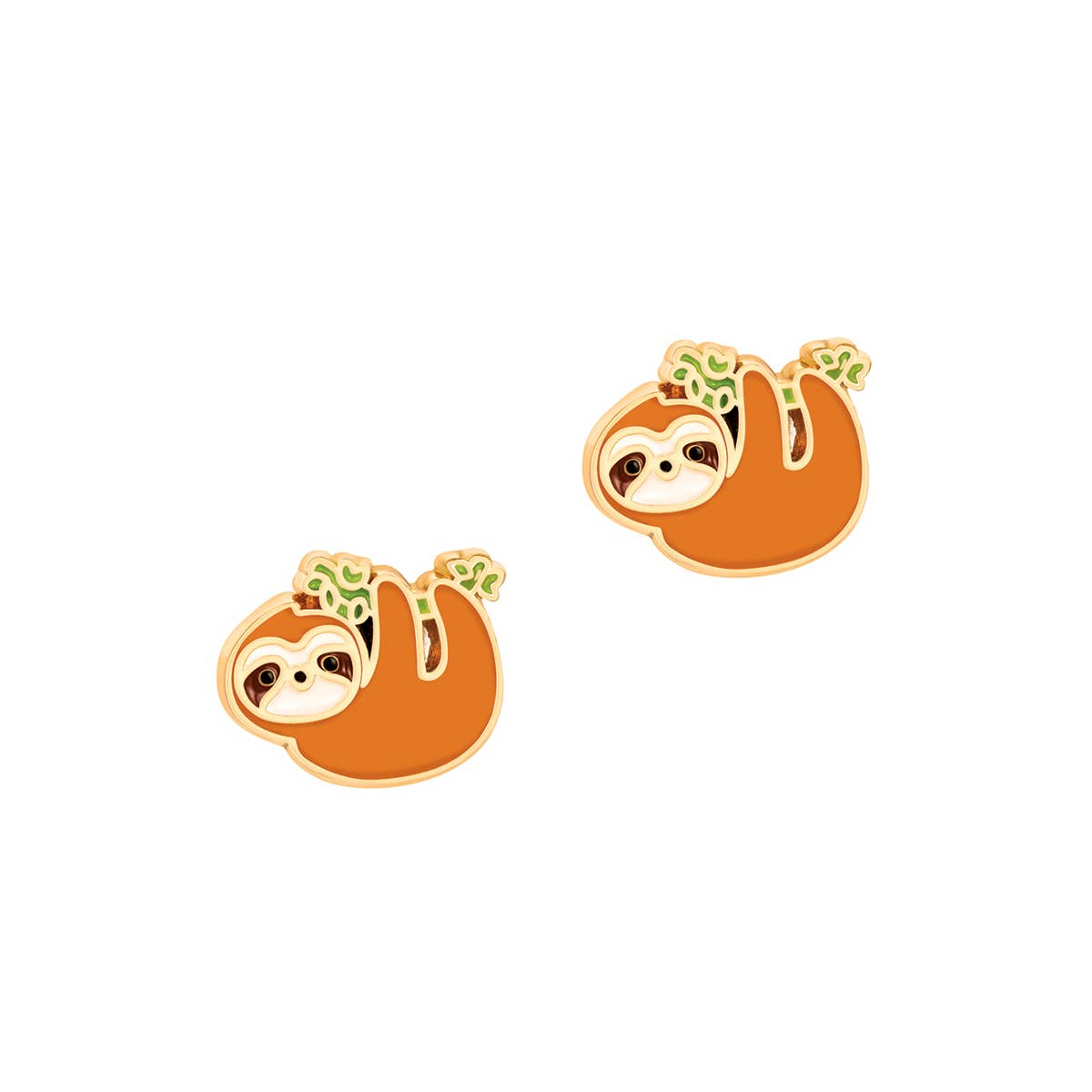 Playful Sloth Cutie Stud | Trada Marketplace