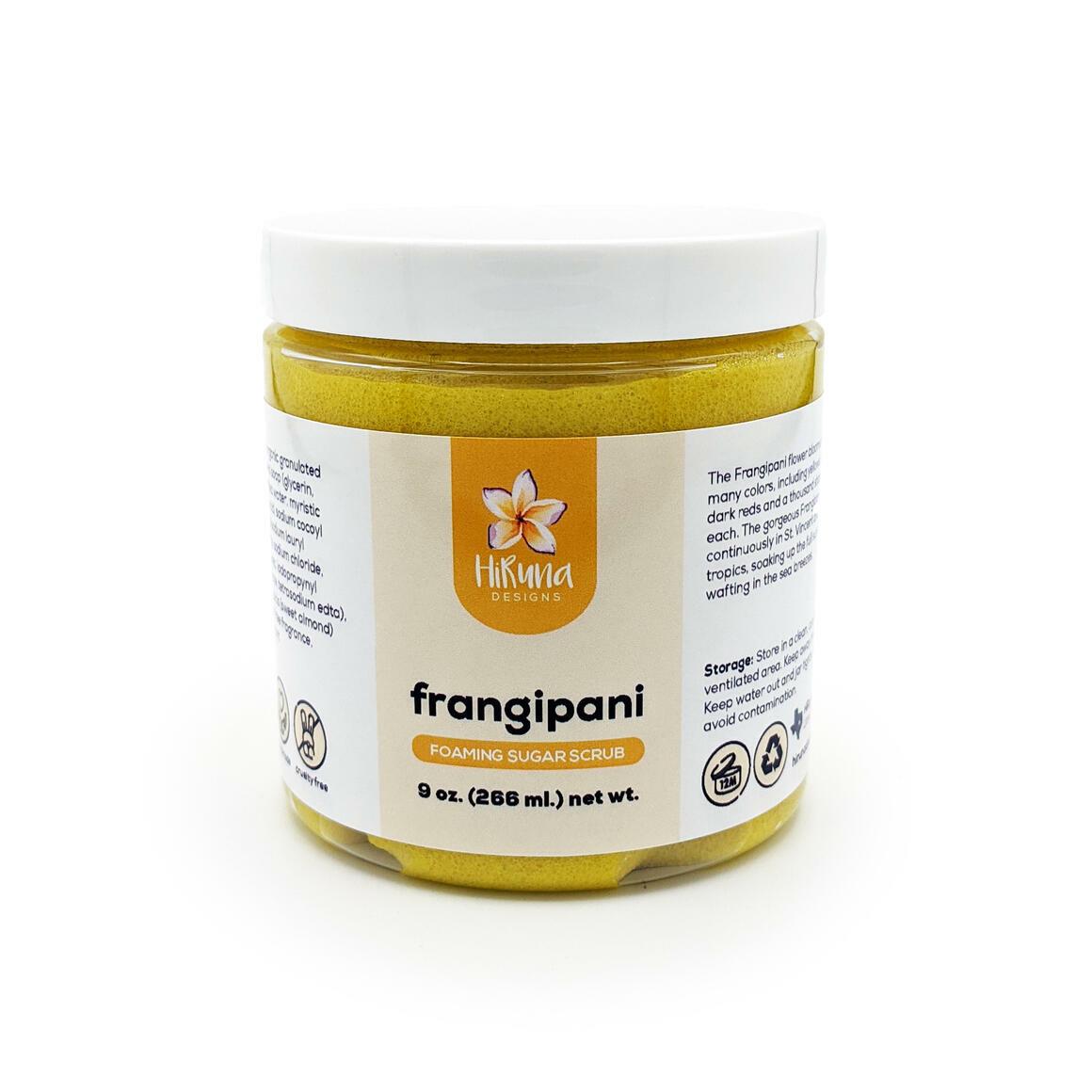 Frangipani - Foaming Sugar Scrub | Trada Marketplace