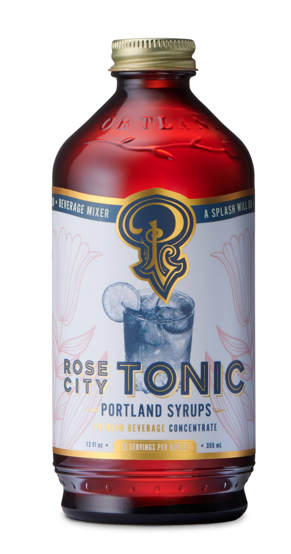 Rose City Quinine Tonic Syrup (12oz) | Trada Marketplace