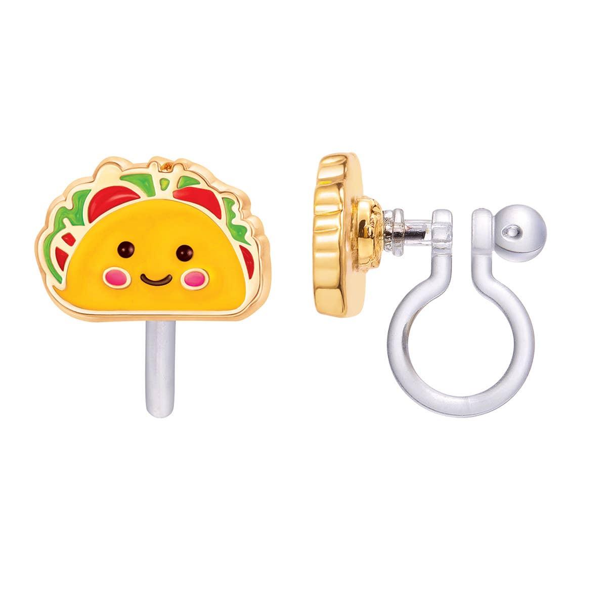 CLIP ON Cutie Earrings- Taco Belle | Trada Marketplace