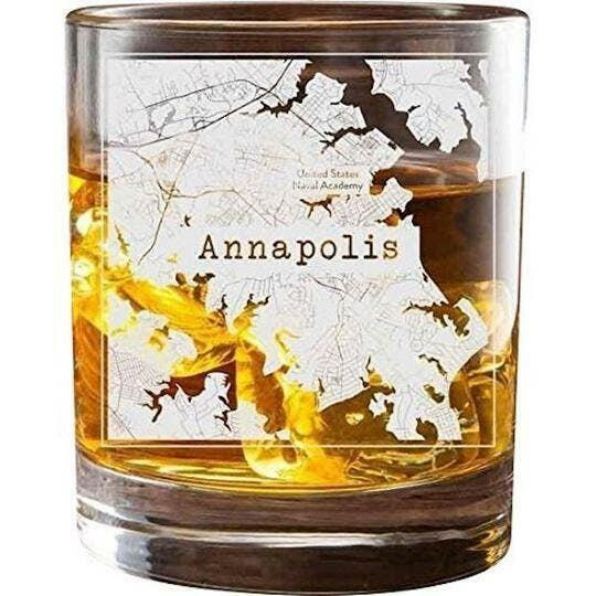 Annapolis College Town Glasses (Set of 2)   Trada Marketplace