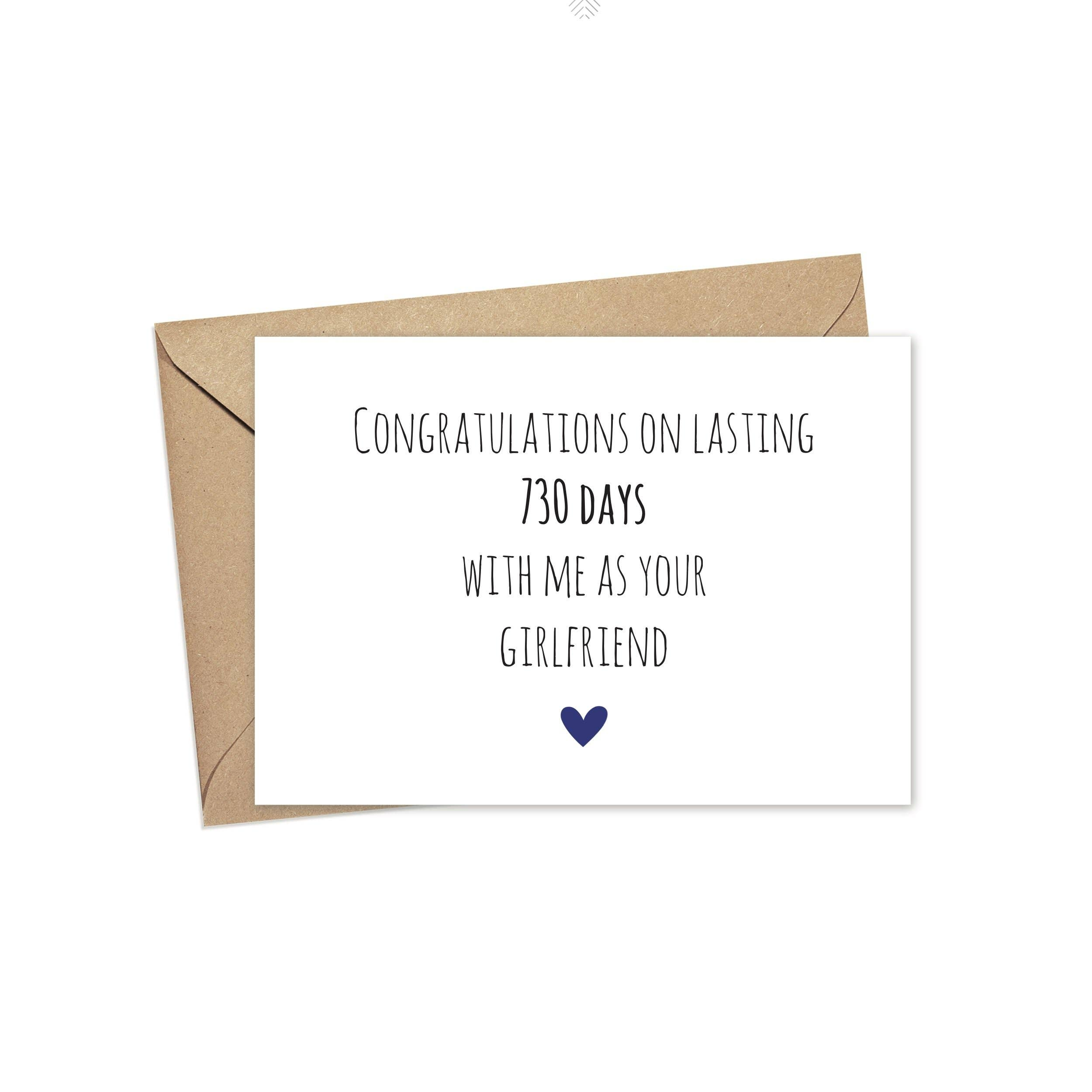 Congratulations on Lasting 730 Days With Me | A2 | Trada Marketplace