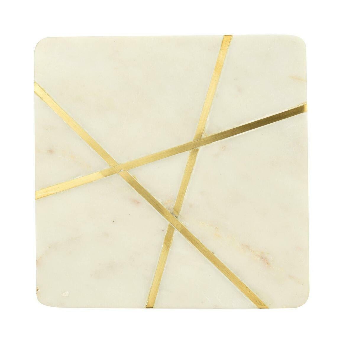 "Badajoz Square Marble Cheese Board (8.0"")   Trada Marketplace"
