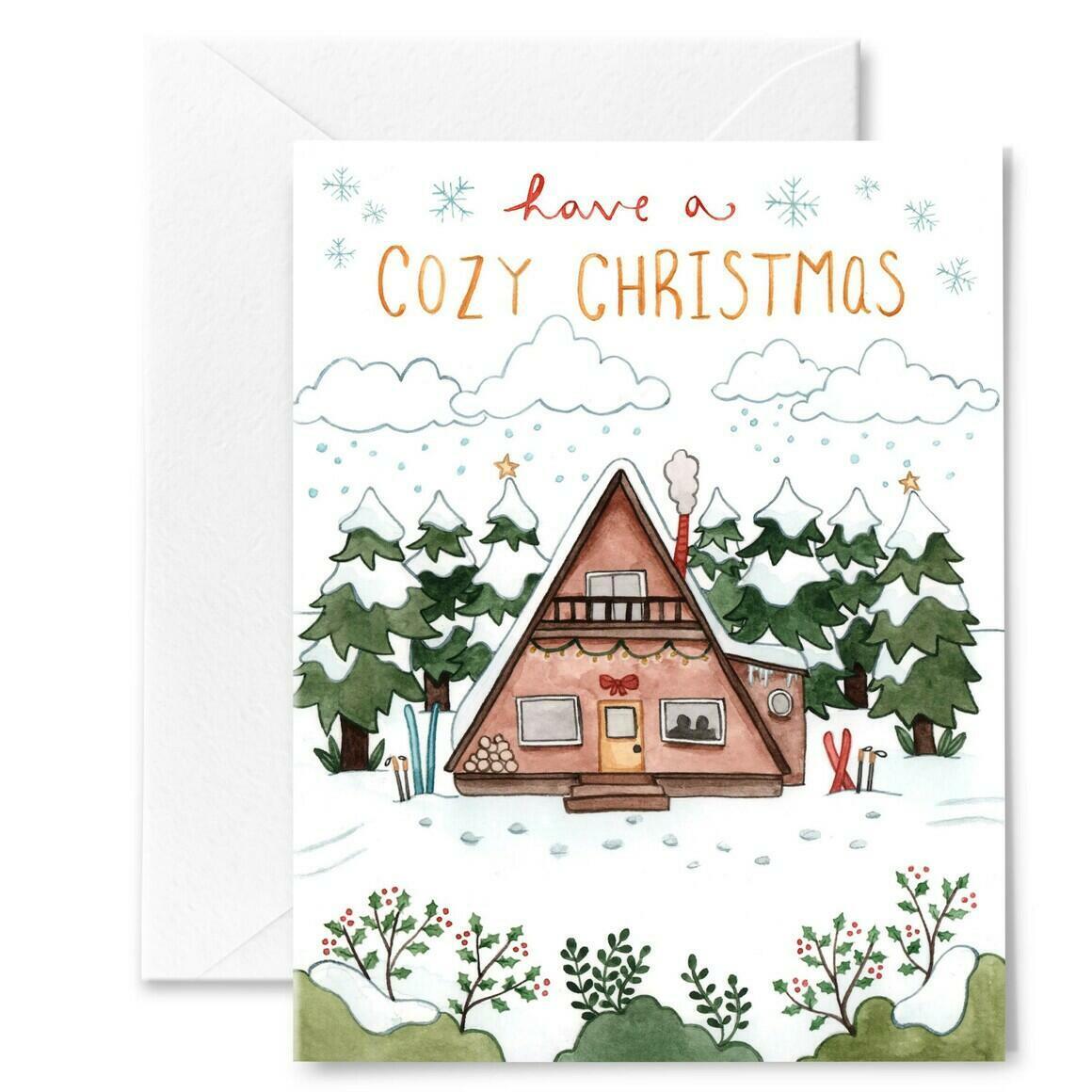 A-Frame Christmas Card | Trada Marketplace