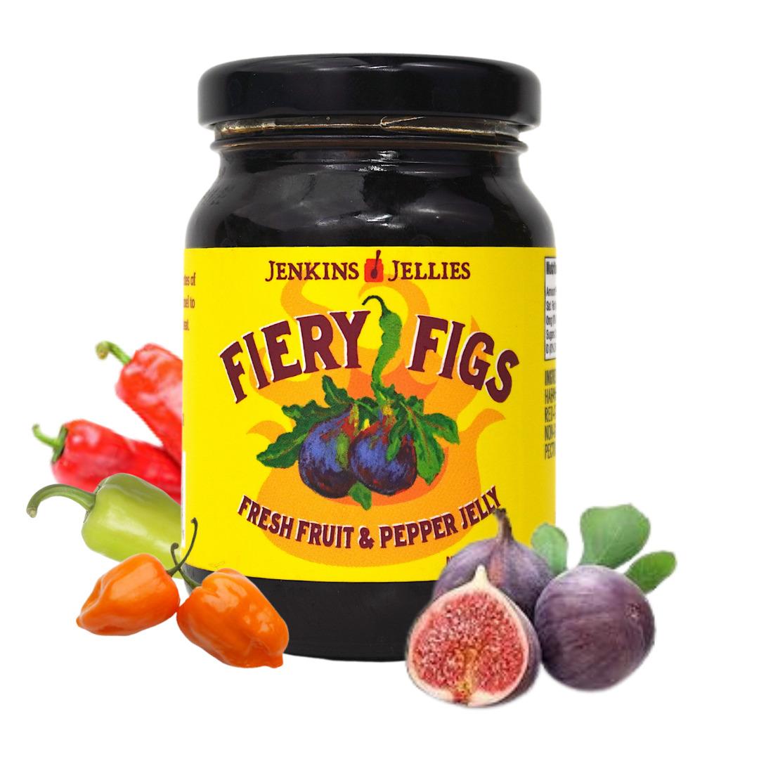 5 oz Fiery Figs Pepper Jelly   Trada Marketplace