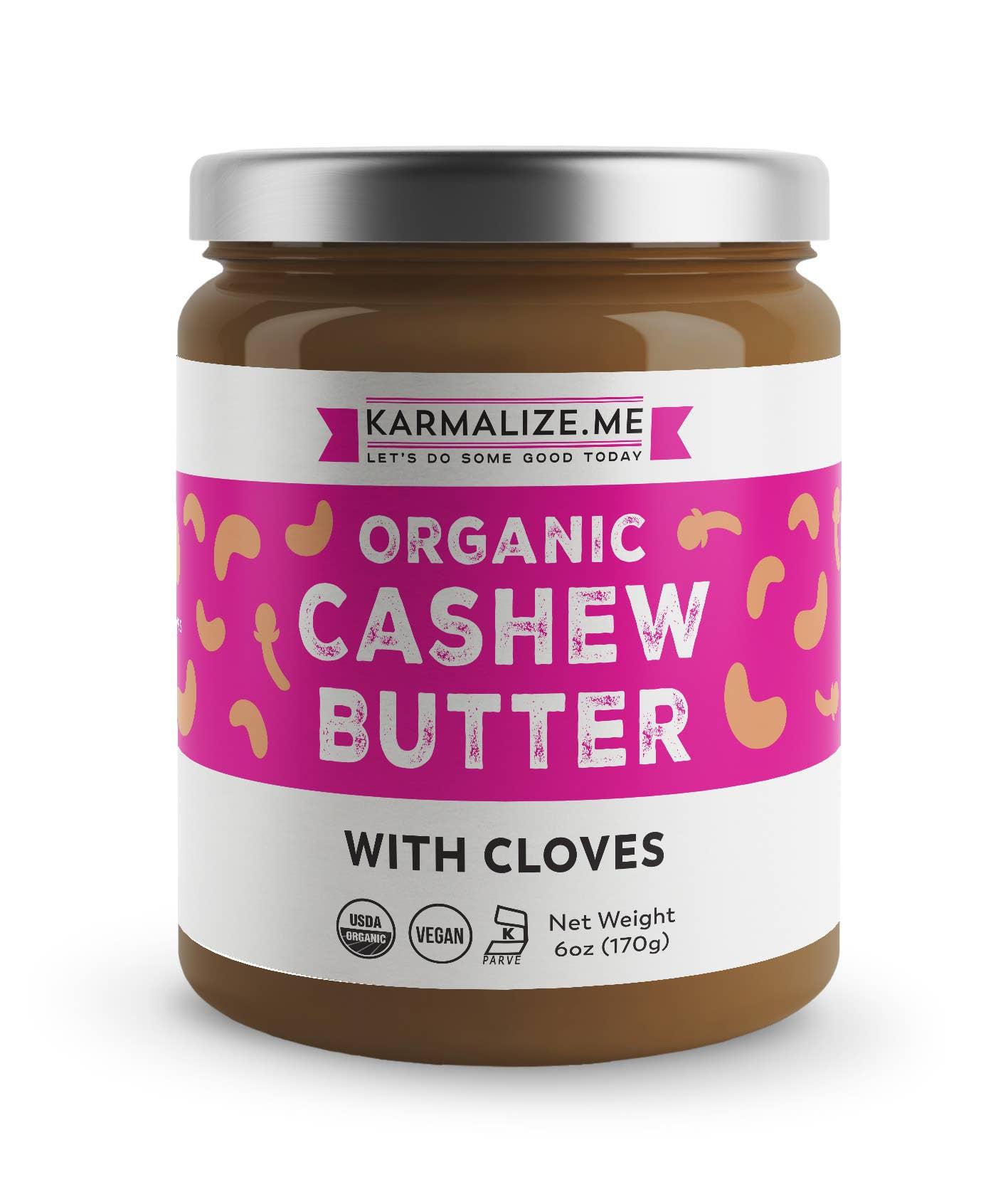 Organic Cashew Butter  | Trada Marketplace