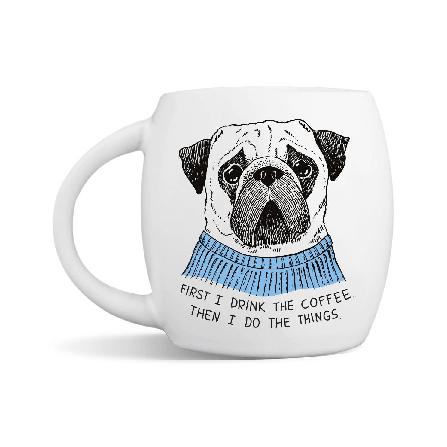 Scrupulous Pug Mug | Trada Marketplace