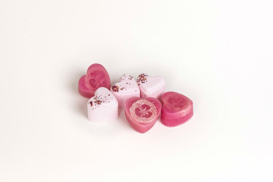 SPECIAL-Lavender Heart Shower steamer- Best Seller as add on   Trada Marketplace
