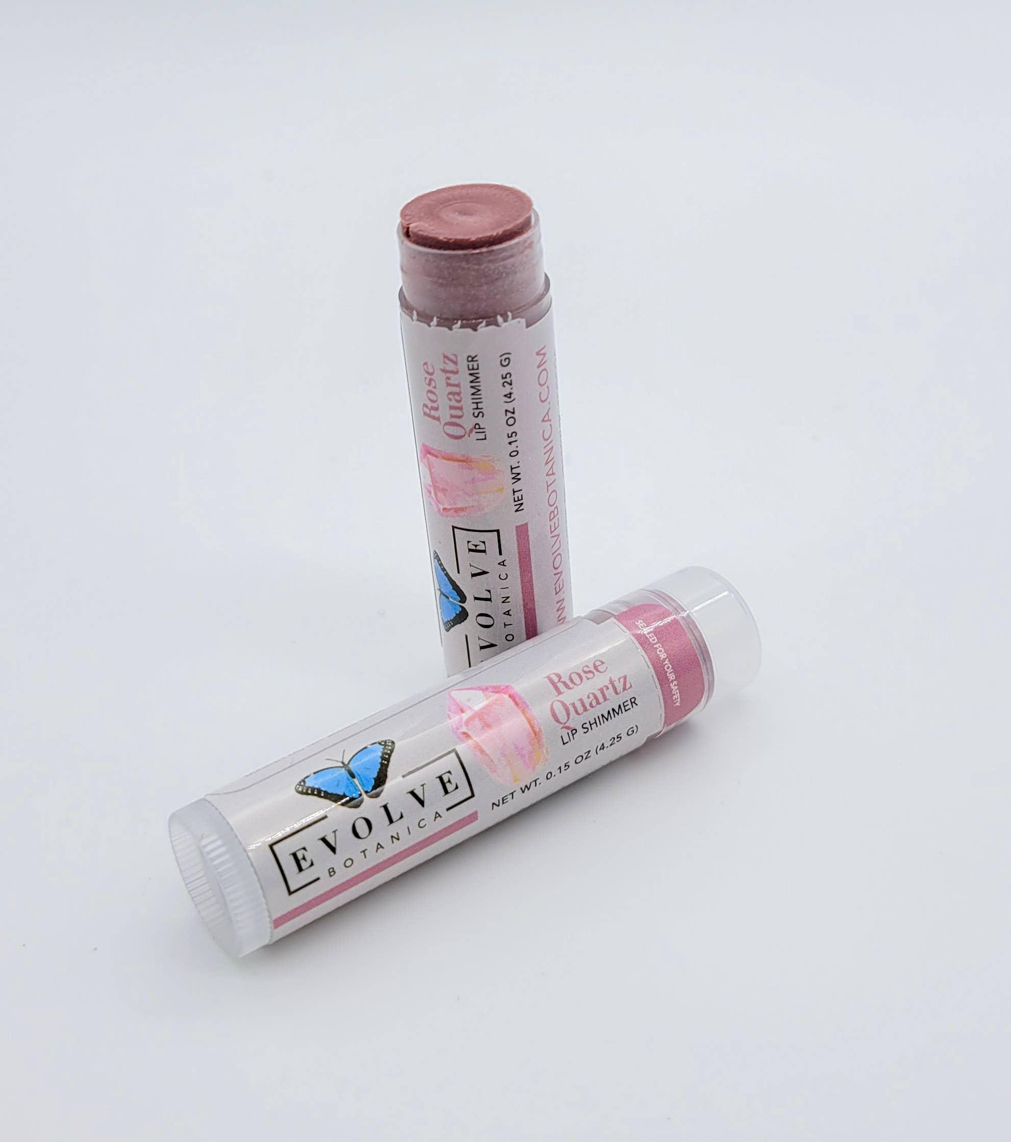 Evolve - Lip Balm - Natural Shimmer Tint - Rose Quartz | Trada Marketplace