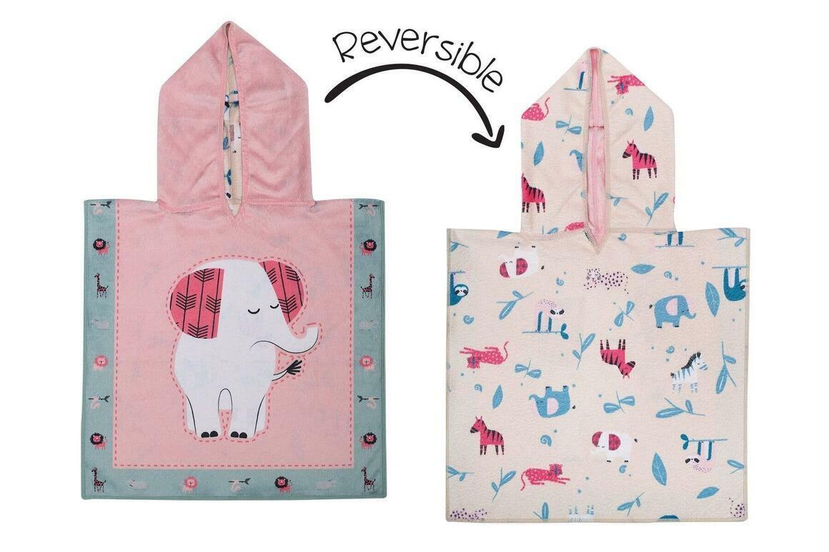 Baby UPF50+ Cover-Up - Elephant/Zoo | Trada Marketplace