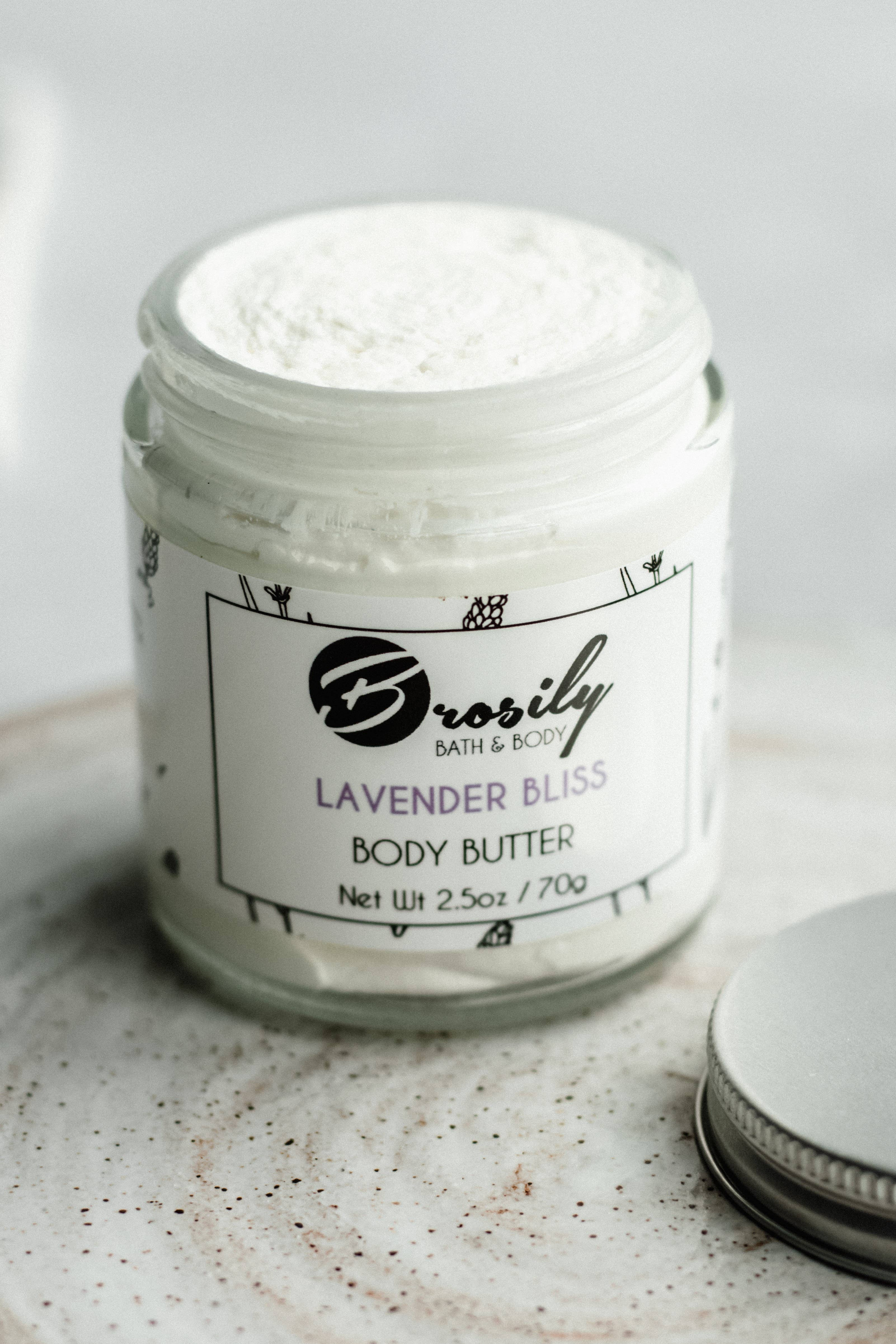 Lavender Bliss Body Butter   Trada Marketplace