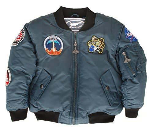 Space Shuttle Jacket - Blue   Trada Marketplace
