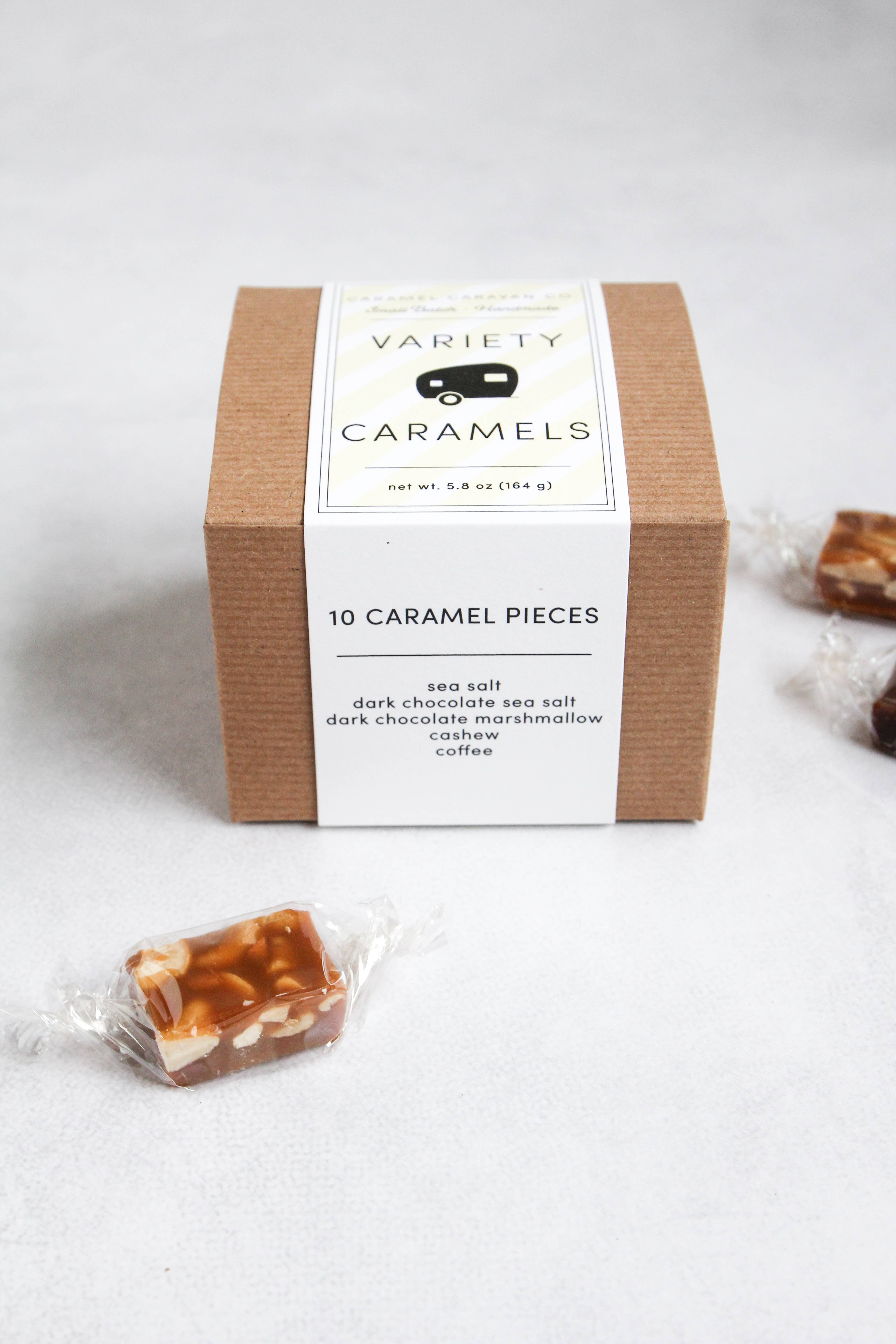 Variety Caramels - 10 Piece Box - Kraft | Trada Marketplace