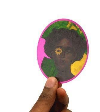 Portrait 3 Art Sticker | Trada Marketplace