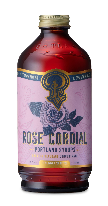 Rose Cordial Syrup (12oz) | Trada Marketplace