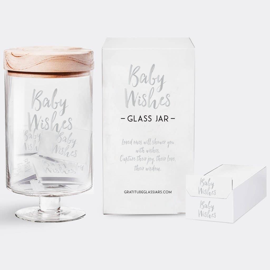 Baby Wishes Glass Jar | Trada Marketplace