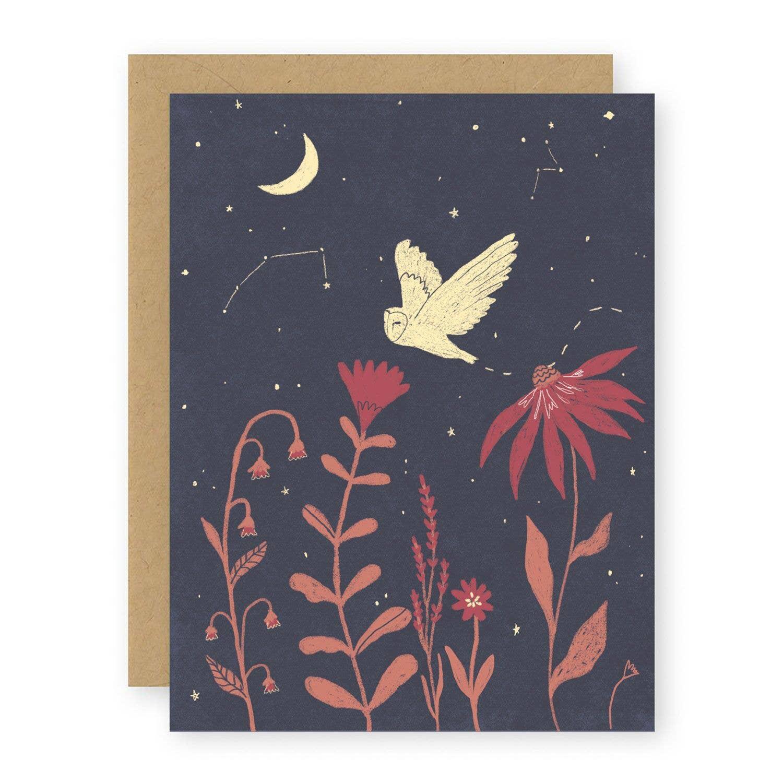 Night Owl Notecard   Trada Marketplace