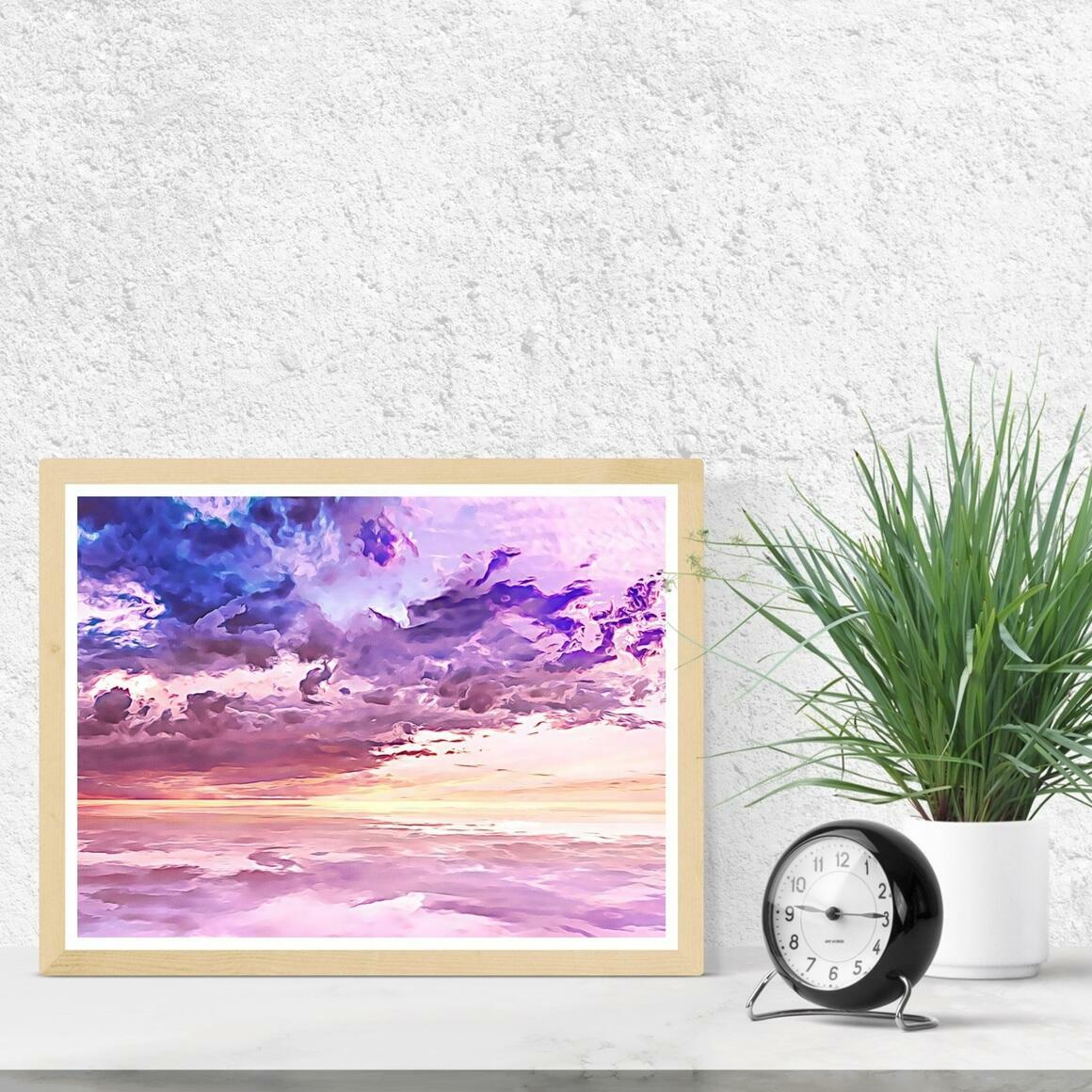 """""""Floating in a Sea of Clouds"""" Fine Art Print 