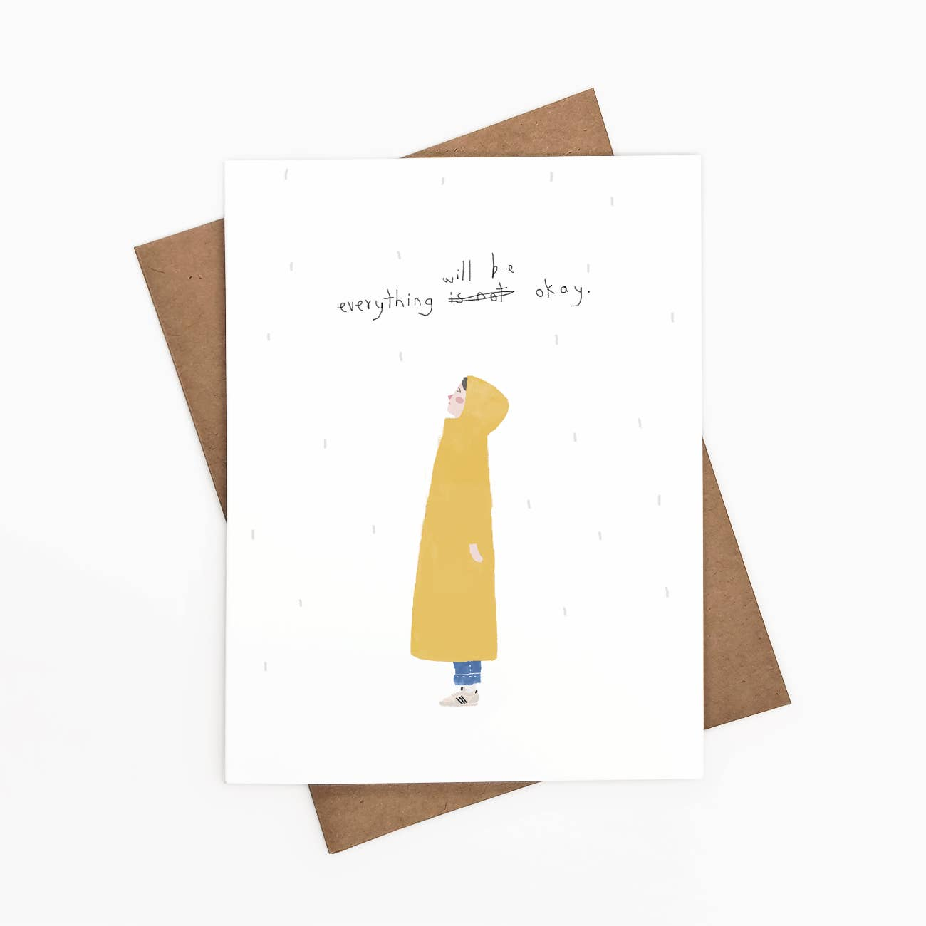 Everything Will Be Okay Greeting Card   Trada Marketplace